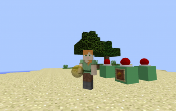 Minecraft item with custom OBJ model