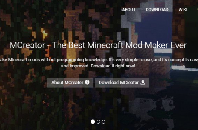 Website updates and new domain for MCreator