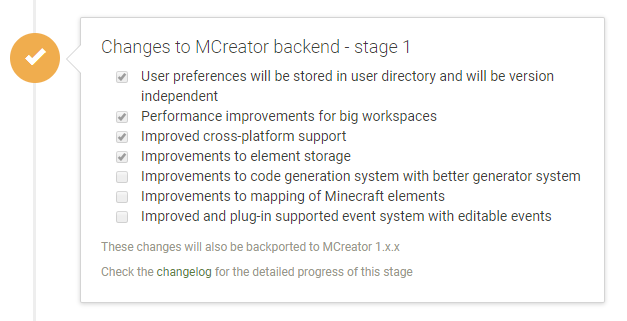MCreator 2 roadmap and MCreator 1.7.8