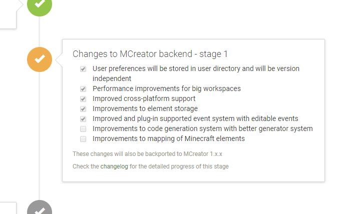 MCreator 2 progress